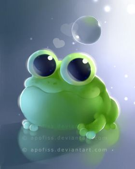 apple frog by Apofiss