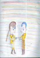 Aang's parents by Kelseyalicia