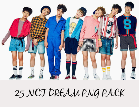 NCT Dream PNG PACK by minatema