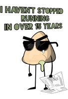 I Haven't Stopped Running + Available On RedBubble by Rick-Elfen