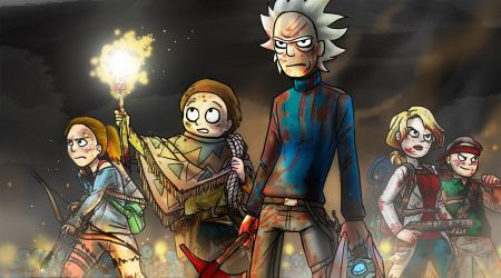 Rick And Morty - Warpath by jameson9101322