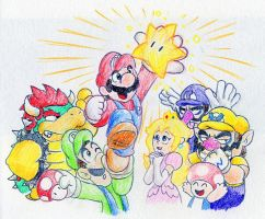 Super Mario Bros by Mickeymonster