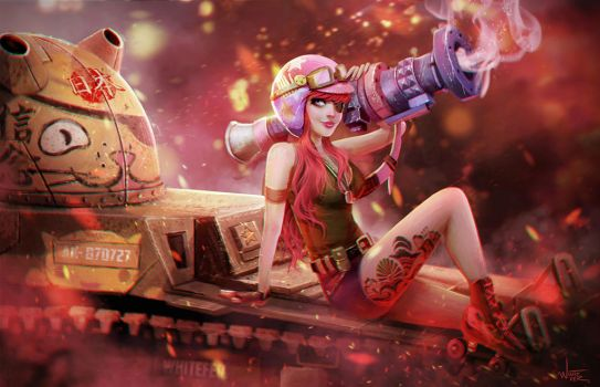 Tank Girl by WhiteFer