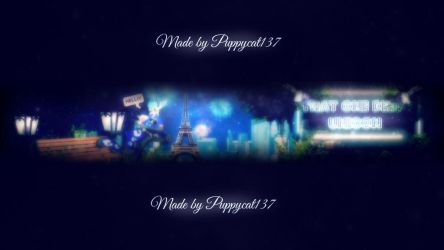 TODU's Channel Banner by PuppycatJamaa