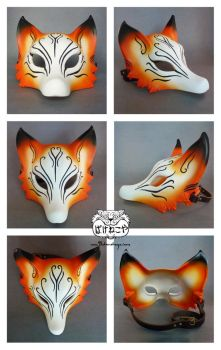 Kitsune mask views by Bakenekoya