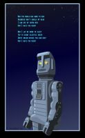 MARVIN the PARANOID ANDROID by DadaHyena