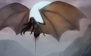 Manananggal (Filipino Folklore Creature) by RenzZero