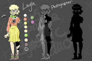 XVOID PROXY OC REF: Layla Baltes by pnckes