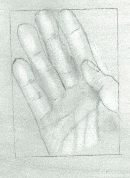 Hand Portrait by papermario13689