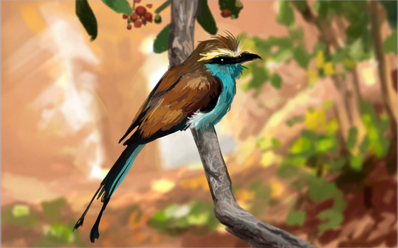 Tropical Bird 2 by 0x4fffwhite
