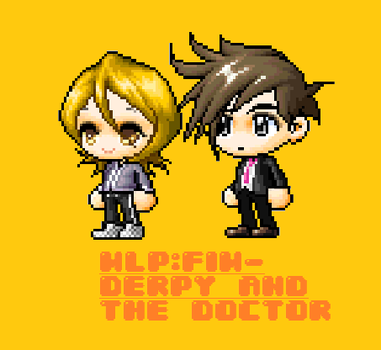 My Little MS- Derpy and the Doctor by pizza-palace