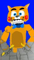 my FNAF Animatronic cool huh by monstersuniversity1