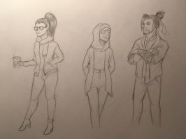 Casual snipers by Funny-horsey