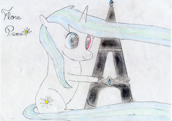 Flore Prima, la mascotte de Frenchy Ponies by Helena-Lullaby