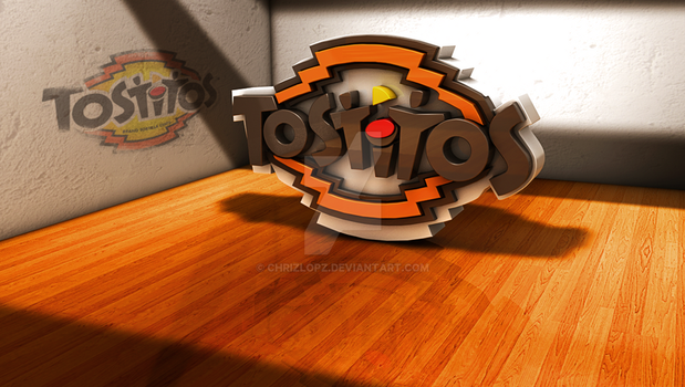 Tostitos - Famous Logos In 3D by ChrizLopz
