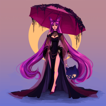 Black Lady by KukkyMota