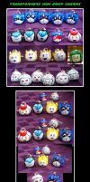 Transformers Mini Army Charms by jagris