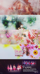 HAPPY NINE YEARS WITH GIRLS GENERATION[STOP SHARE] by Byunryexol