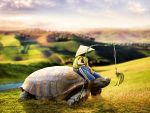 My Dearest Friend- The boy and the turtle by 35-Elissandro
