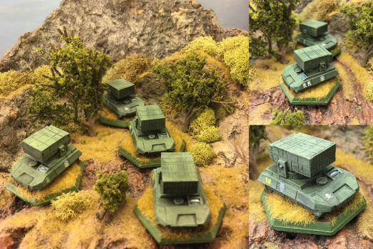 St. Ives Armored Cavalry SRM Carrier by Viereth