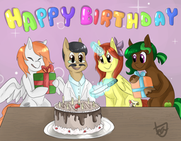 Bday Party by teabut