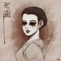 Shiryo - Asian Ghost - soul of the dead by Gubnub