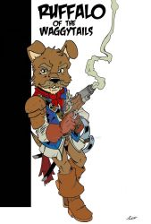 Ruffalo of the WaggyTails: Dogfolk Pathfinder by wonderfully-twisted