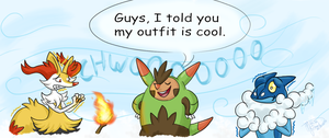 Quilladin outfit Is cool