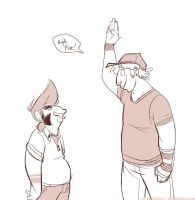 That awkward moment when... by delSHARK