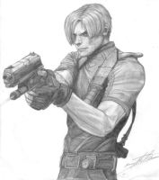 Leon S. Kennedy by Black-Wolf-of-Hell