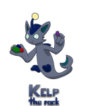 Wavelyns -- Kelp the Rock by Skyblue2005