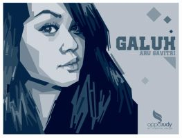galuh MONOCROME by opparudy