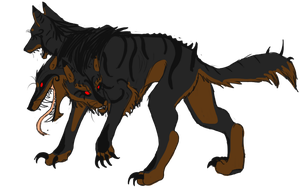 Cerberus Adoptable - Closed by lover-of-the-Drow