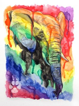 Elephant Hues by BlvqWulph