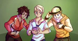 Team leaders as players by YoruWish