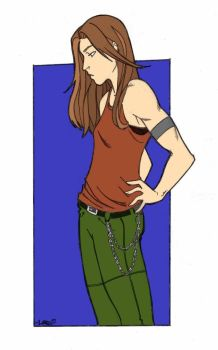 Val colored by SidekickGirl