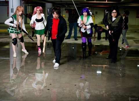 Highschool of the Dead - Run by dendensushi