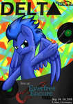 DELTA is comming to the Everfree Encore! by MimicProductions