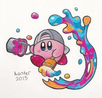 Kirby's New Hobby by Isuckworse