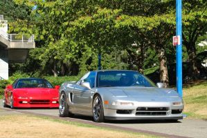 NSX Duo by SeanTheCarSpotter