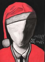 A Slender Christmas by charcoalman