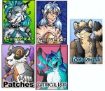 even more badges by lady-cybercat