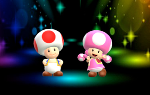 Toad and Toadette is Here by PokeGirlRULES