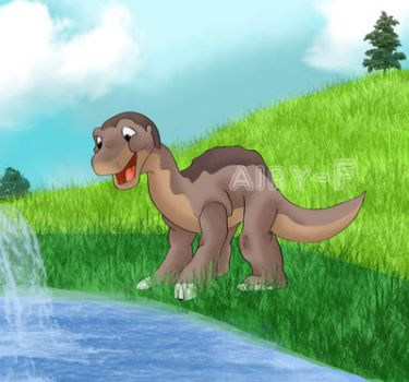Little Foot by Airy-F