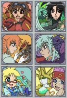 Bakugan Stampcollection 4 by Inesidora