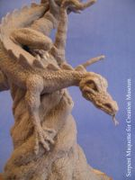 Serpent Maquette by shaungent