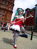 MCM Manchester Expo 2013 Miku by TheBlindProphetess