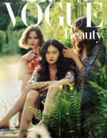 Vogue Japan August 2015 beauty cover by AlexandraSophie