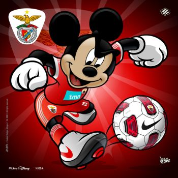 Mickey Soccer SLB by jpnunezdesigns