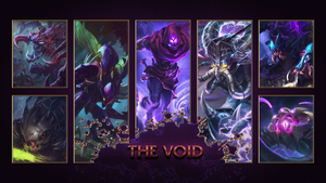 [League of Legends] The Void Wallpaper by TheLadyClockWork
